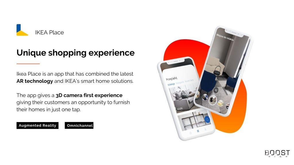 AR e-commerce - Unique shopping experience - Ikea Place