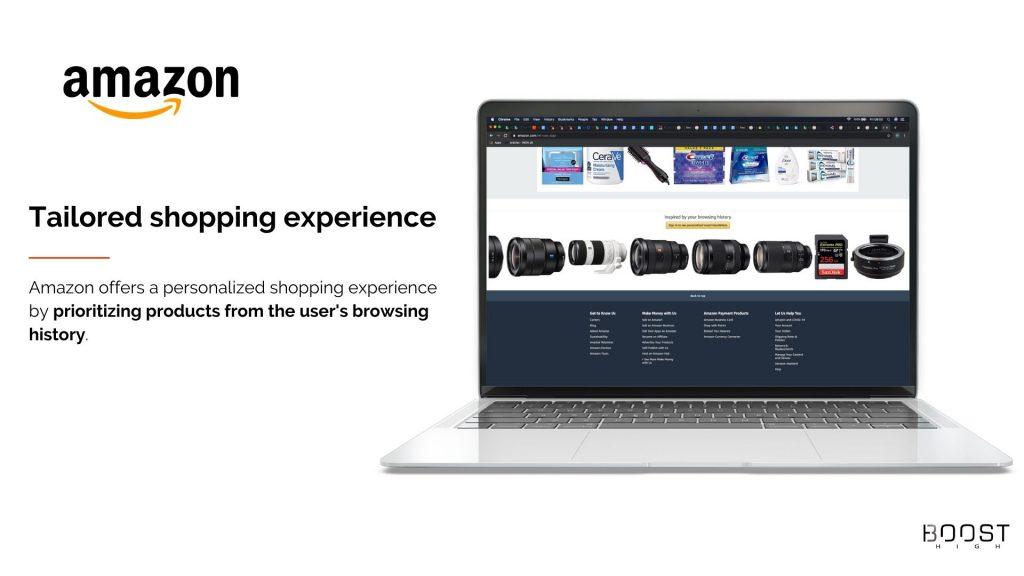 E-commerce Trends - Personalization - Amazon